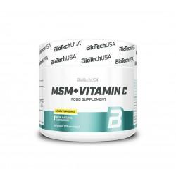 BIO TECH MSM + Vitamin C 150g