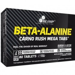 OLIMP Beta-Alanine Carno Rush 80 tabs