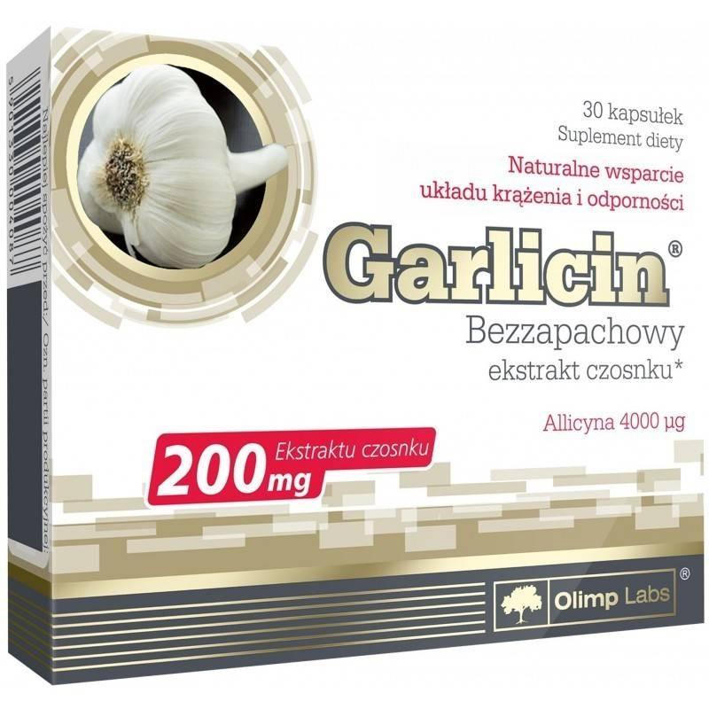OLIMP GARLICIN 30 kaps BLISTRY