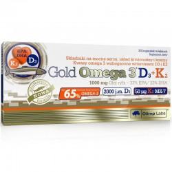 OLIMP Gold Omega 3 D3+K2  30 kaps