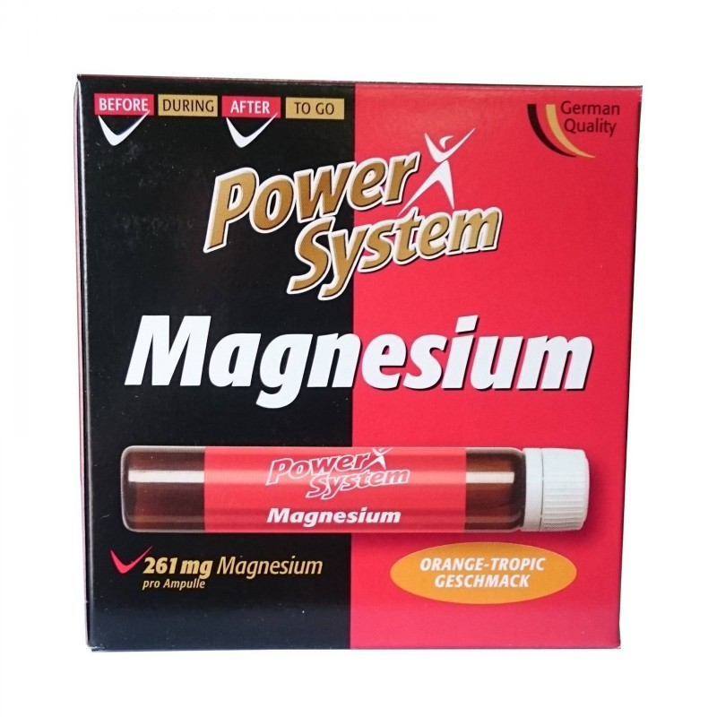 POWER SYSTEM Magnesium 25ml amp.