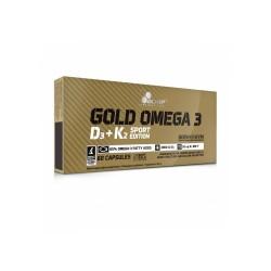 OLIMP Gold Omega 3 D3+K2 SPORT 60 kaps